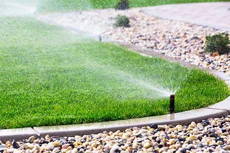 Irrigation rive sud